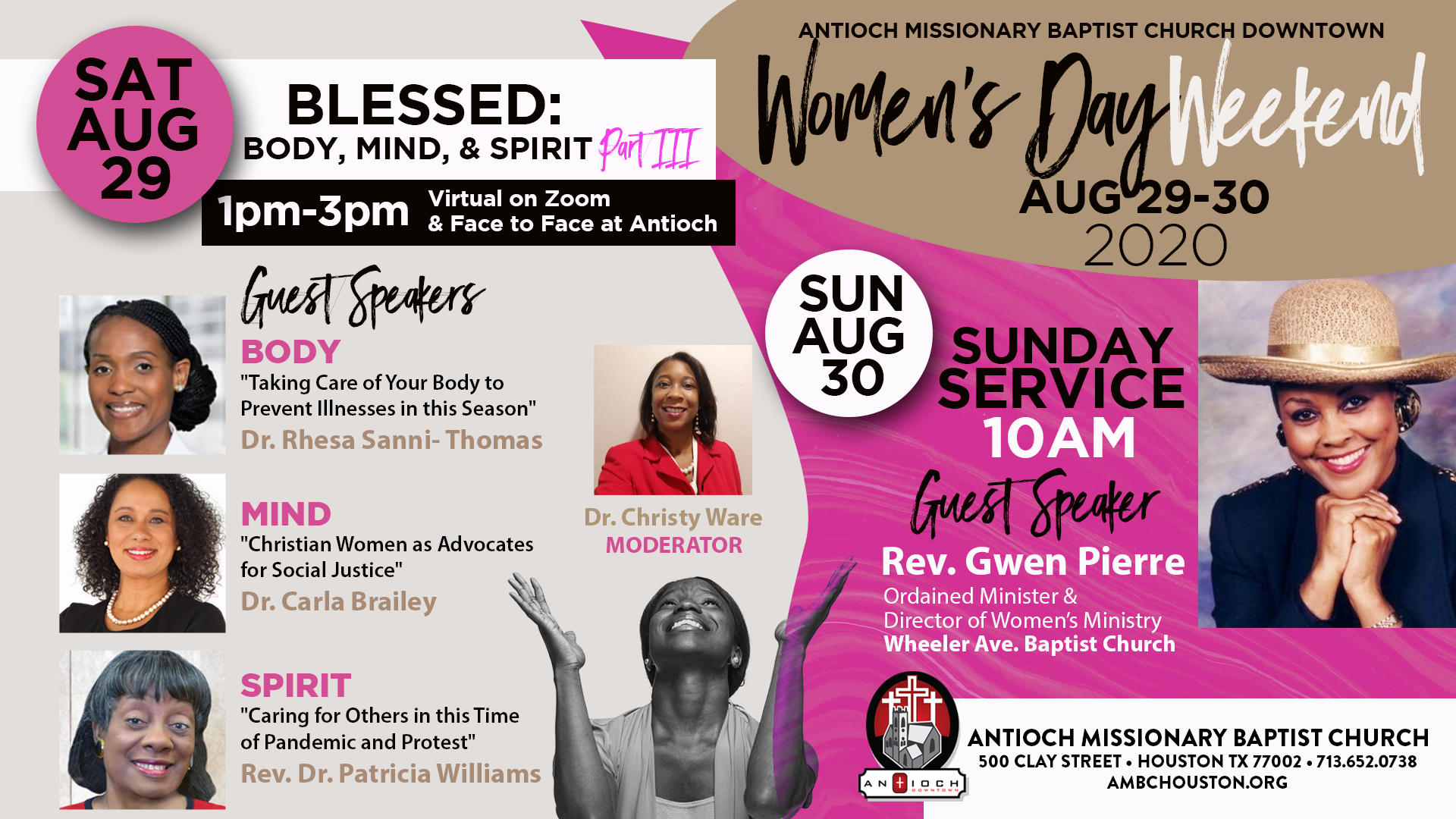 2020 AMBC Women's Day Weekend